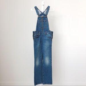 Levi's zip-up overalls